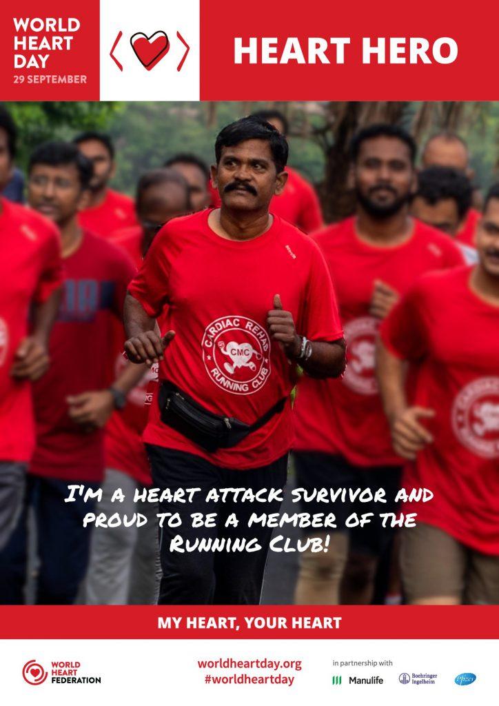 running to recover as part of cardiac rehab running club