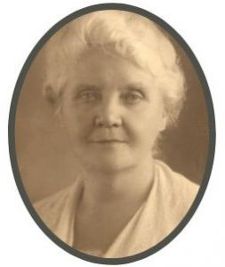 Portrait of Ida Scudder in her later years