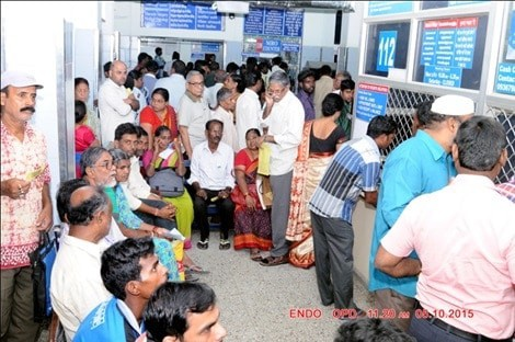 kannigapuram was started because the old CMC faciltites were crowded. But now Kannigapuram opens for CoVid patients