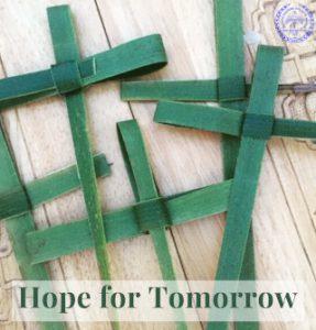 crosses on Maundy Thursday, Easter 2020
