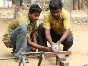 RUHSA Community College provides socioeconomic advantage shown here training local men