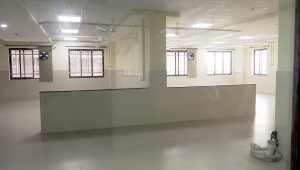 An empty ward awaits beds, mattresses and bedding as Kannigapuram opens for CoVid patients