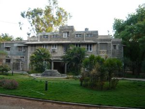 big bungalow on the Bagayam campus