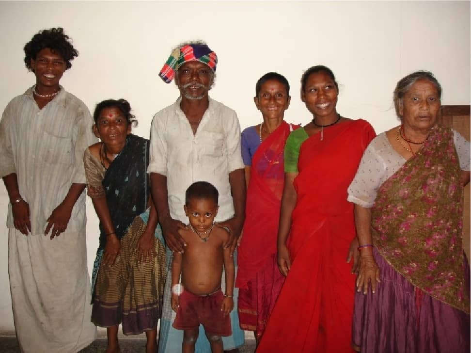 Family of romani origin. Some in the community have AKU. This starts in their teenage years and causes pain and disability.