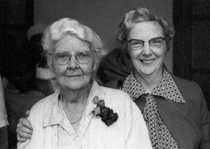 Aunt Ida with her niece Ida B