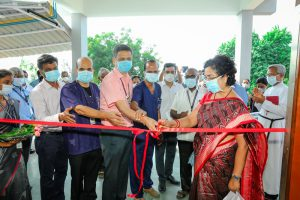 Cutting the ribbon at the radiology suite inauguration at Chittoor