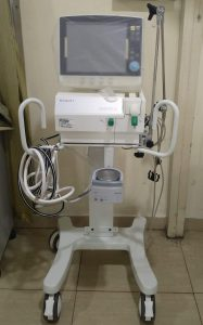 ventilator donated for COVID patients