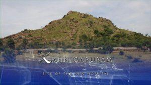 plans superimposed on the hill at Kannigapuram