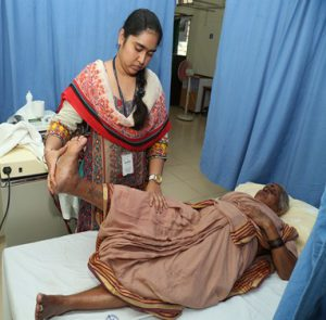 Physiotherapy at CMC chittoor campus in Andra Pradesh