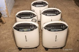 oxygen concentrators arrive at CMC Vellore as patient numbers increase